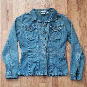 Stretch Denim Jacket Blazer